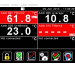 Calex PM180 6 csatornás Modbus Pyrometer Hub adatnaplózással