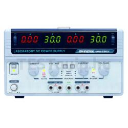 GOODWILL GPS-2303 / GPS-3303 / GPS-4303 többcsatornás lineáris DC tápegységek