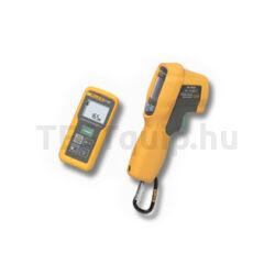 Fluke mérőműszer készlet 414D lézeres távolságmérő, 62 MAX+ infrahőmérő Combo Kit