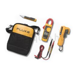 Fluke mérőműszer készlet 62 MAX+ infrahőmérő, 323 lakatfogó, 1AC II feszültség kémlelő Kit