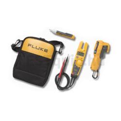 Fluke mérőműszer készlet T5-600 feszültségteszter, 62 MAX+ infrahőmérő, 1 AC II feszültség kémlelő Electrical Tester and Voltage Detector Kit