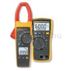 Fluke 376 FC 1000A AC/DC True RMS digitális lakatfogó és Fluke 114 digitális multiméter
