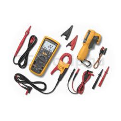 Fluke mérőműszer készlet 1587 szigetelési ellenállásmérő, i400 lakatfogó, 62 MAX+ infrahőmérő Electrical Troubleshooting Kit