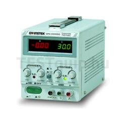 GOODWILL GPS-1830D / 1850D / 3030D / 1850 / 3030 / 6010 / 3030DD Lineáris DC tápegységek