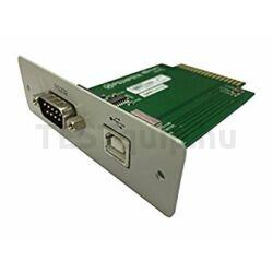 GW Instek APS-002 RS-232 és USB interfész