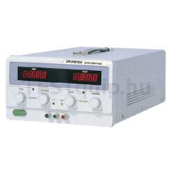 GW Instek GPR-3060D 30V-6A, 1 csatornás, trafós tápegység