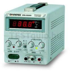 GW Instek GPS-1830D 18V-3A, 1 csatornás, trafós tápegység