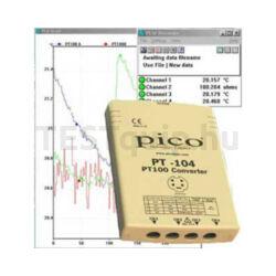 Pico PT-104 PT-100-as hőmérő és regisztráló