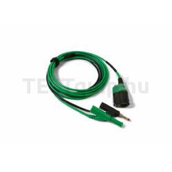 Pico TA406 BNC+ Prémium mérővezeték, BNC-4mm, 3m, zöld