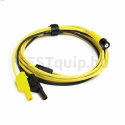 Pico TA128 Prémium mérővezeték, BNC-4mm, 3m, sárga