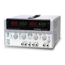 GOODWILL SPD-3606 többcsatornás, több méréstartományos DC tápegység