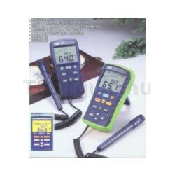 TES-1364/ TES-1365 Páratartalom és hőmérsékletmérő