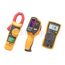 Fluke mérőműszer készlet VT04 infrahőmérő, 902 lakatfogó, 116 digitális multiméter HVAC Combo Kit