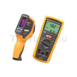 Fluke mérőműszer készlet VT04 infrahőmérő, 1507 szigetelési ellenállásmérő Maintenance Combo Kit