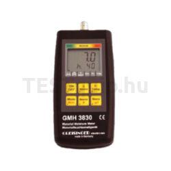 Greisinger GMH 3830 Fa-, és építőanyag nedvességmérő