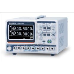 GW Instek GPE-4323 2x32V-2x3A + 5V-1A + 15V-1A, 4 csatornás, trafós tápegység