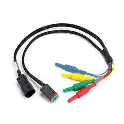 Pico TA193 4-pin német DTXX-4 csatlakozós Y kábel