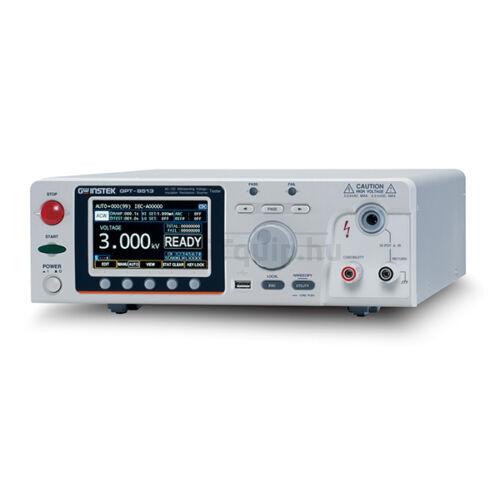GW Instek GPT-9513 5kV AC, DC, IR szigetelés vizsgáló 150VA + GC