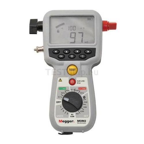 Megger MOM2 mikro-ommérő