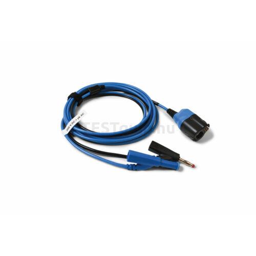 Pico TA475 BNC+ Prémium mérővezeték, BNC-4mm, 5 m, kék