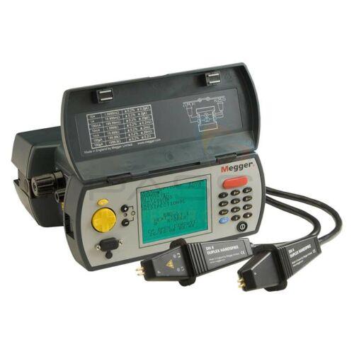Megger DLRO10X Ducter ellenállásmérő + DH4-C mérővezetékkel