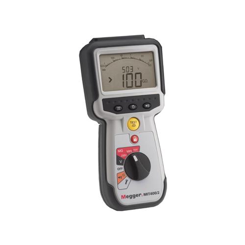 Megger MIT410/TC3 szigetelési ellenállásmérő és folytonosság vizsgáló telekom mérésekhez