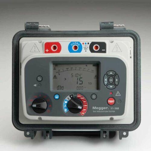 Megger S1-568-EU szigetelési ellenállásmérő 5kV, 15TOhm