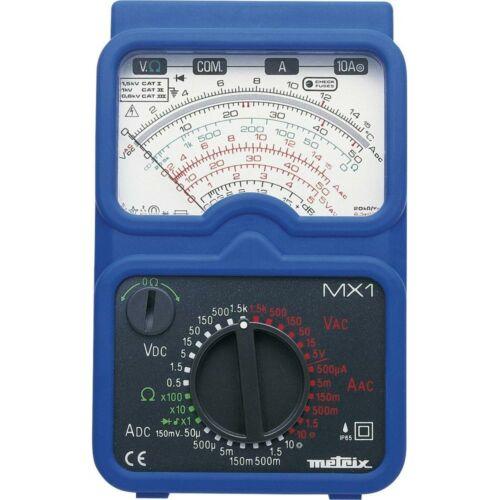 Metrix MX1 analóg multiméter 1500V 10A