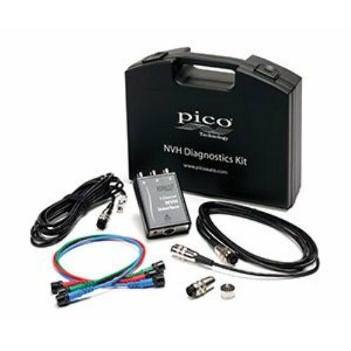 Pico PQ120 NVH Advanced Diagnosztikai Kit és Mongoose Kábel hordtáskában